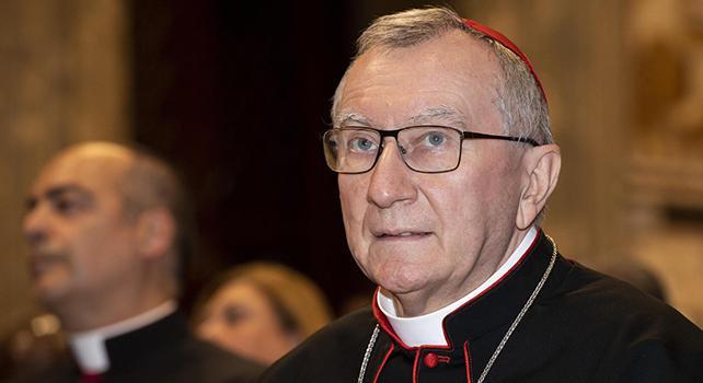 Mozione razzismo, Parolin (Vaticano):