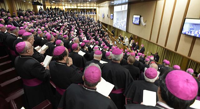 Papa Francesco ringrazia Bagnasco.