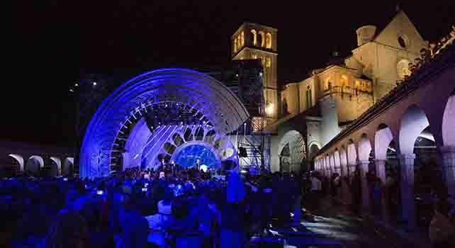 Assisi, concertone