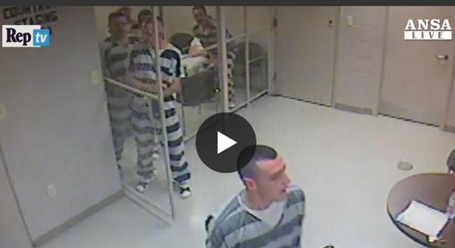USA. Detenuti evadono dalla cella per salvare una guardia