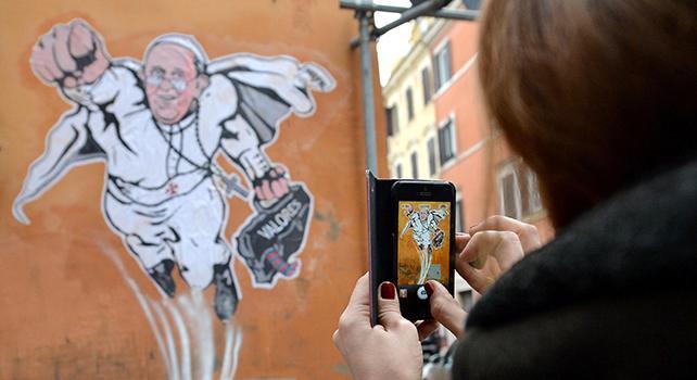 Francesco: quello del Papa è un