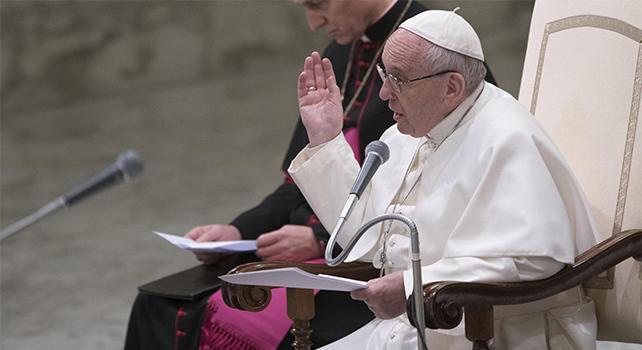 Trenta infermieri vercellesi ricevuti da Papa Francesco