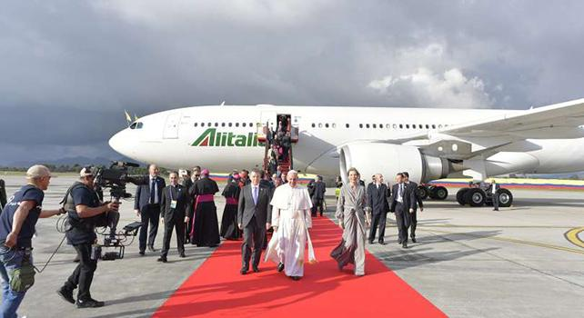 Il Papa in Colombia dopo la fine della guerriglia: