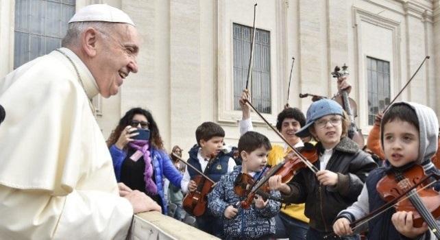 Papà Thomas a Papa Francesco:
